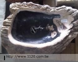 衛浴精品-萬年木化石/臉盆P22-4