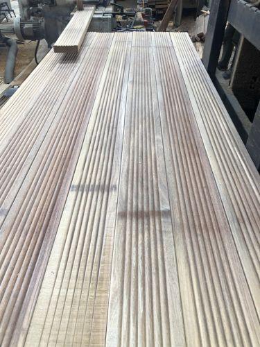 南洋欅木鐵木地板 4X14.5X300CM 止滑溝