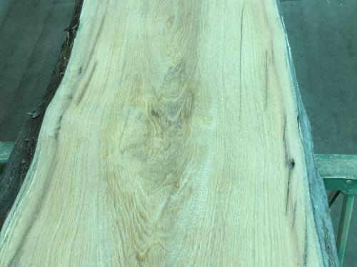 南洋欅木原木板,紋路美自然邊