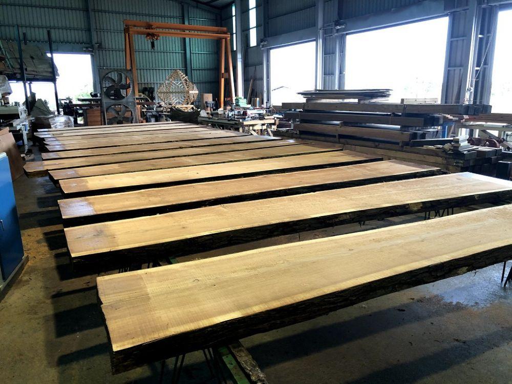 日本杉木原木板(厚)