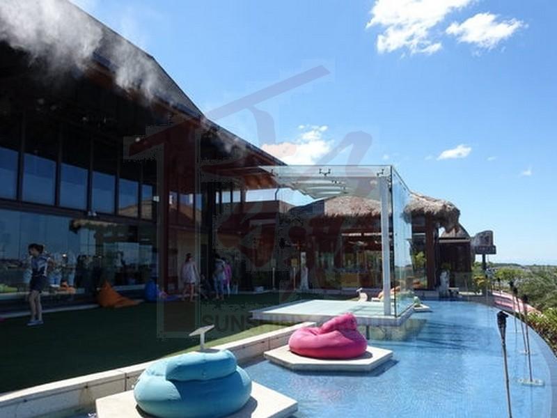 峇里水岸餐廳南洋風建築