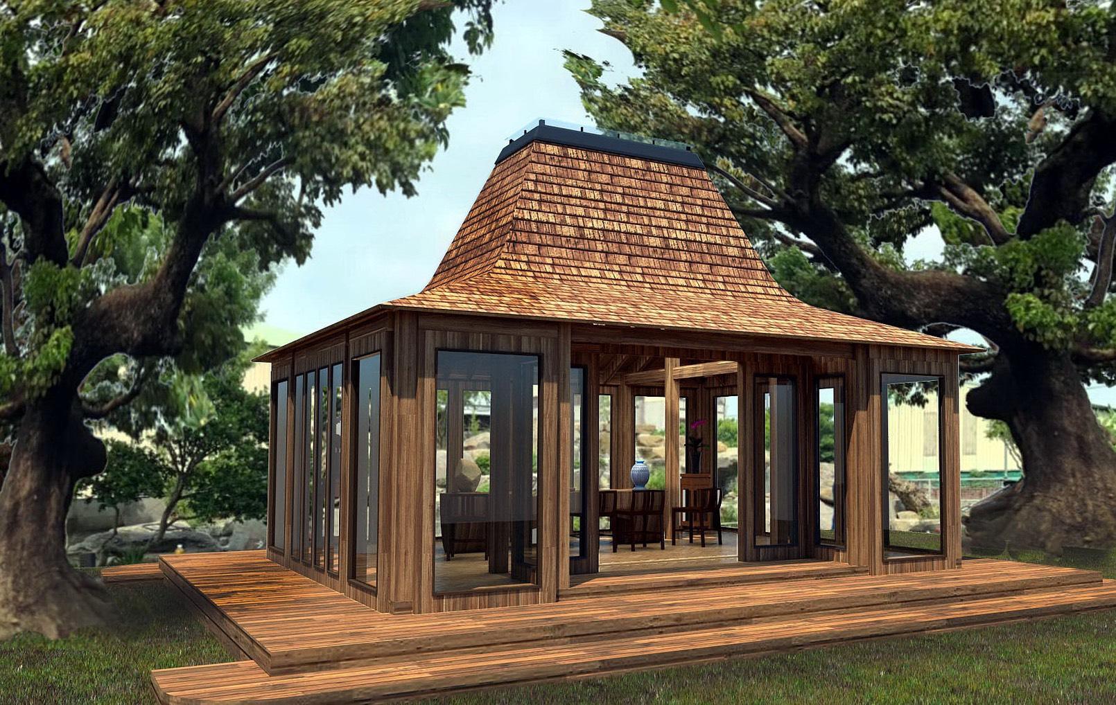 南洋式木屋